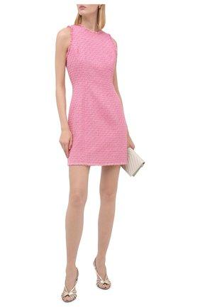Женское платье BALMAIN розового цвета, арт. UF16104/C257 | Фото 2