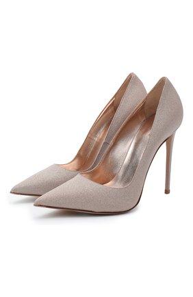 Женские текстильные туфли deco eva LE SILLA светло-коричневого цвета, арт. 2101M100R1PPFES   Фото 1