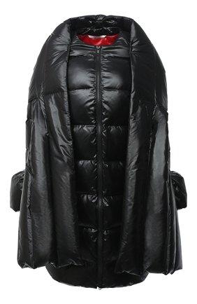 Женский пуховик VALENTINO черного цвета, арт. UB3CP00N5LE | Фото 1