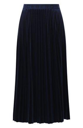 Женская юбка ICEBERG темно-синего цвета, арт. 20I I2P0/C131/4967 | Фото 1