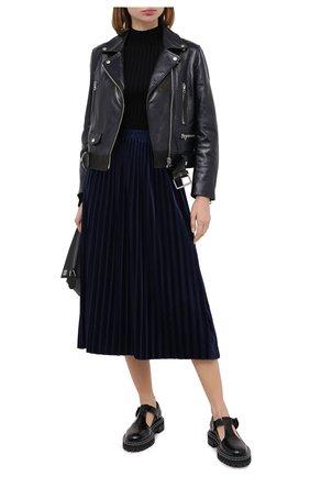 Женская юбка ICEBERG темно-синего цвета, арт. 20I I2P0/C131/4967 | Фото 2