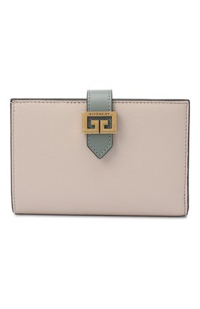Женские кожаный кошелек gv3 GIVENCHY хаки цвета, арт. BB601GB056   Фото 1