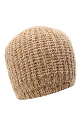 Женский шапка BOSS бежевого цвета, арт. 50436504 | Фото 1