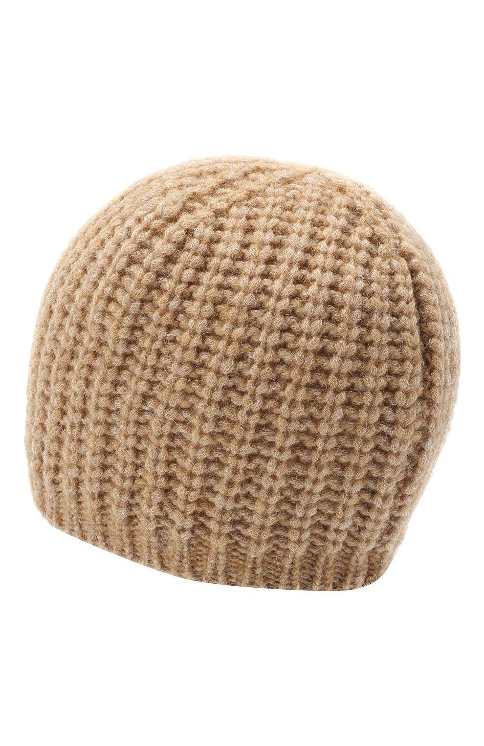 Женская шапка BOSS бежевого цвета, арт. 50436504 | Фото 2