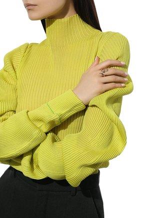 Женское кольцо MOONKA STUDIO зеленого цвета, арт. dem-pr-g | Фото 2