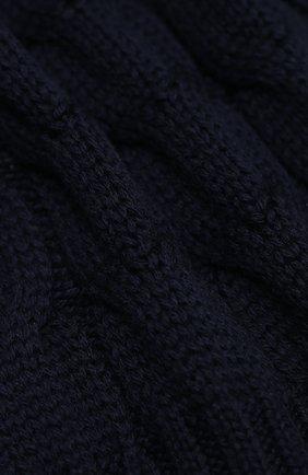 Детский шерстяной шарф MONCLER темно-синего цвета, арт. F2-954-3C700-20-04S02   Фото 2