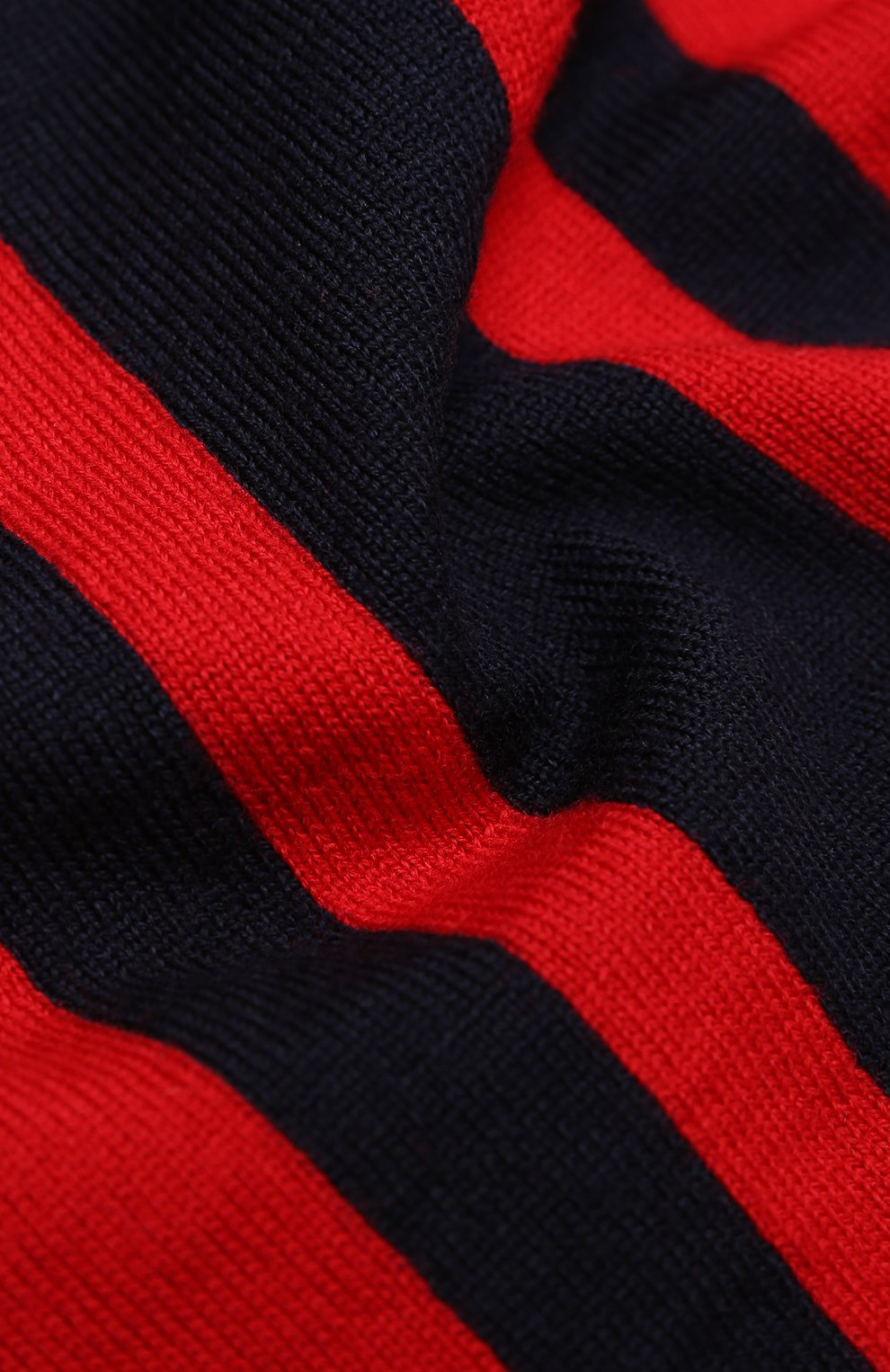 Детский шерстяной шарф MONCLER темно-синего цвета, арт. F2-954-9Z705-20-A9366 | Фото 2