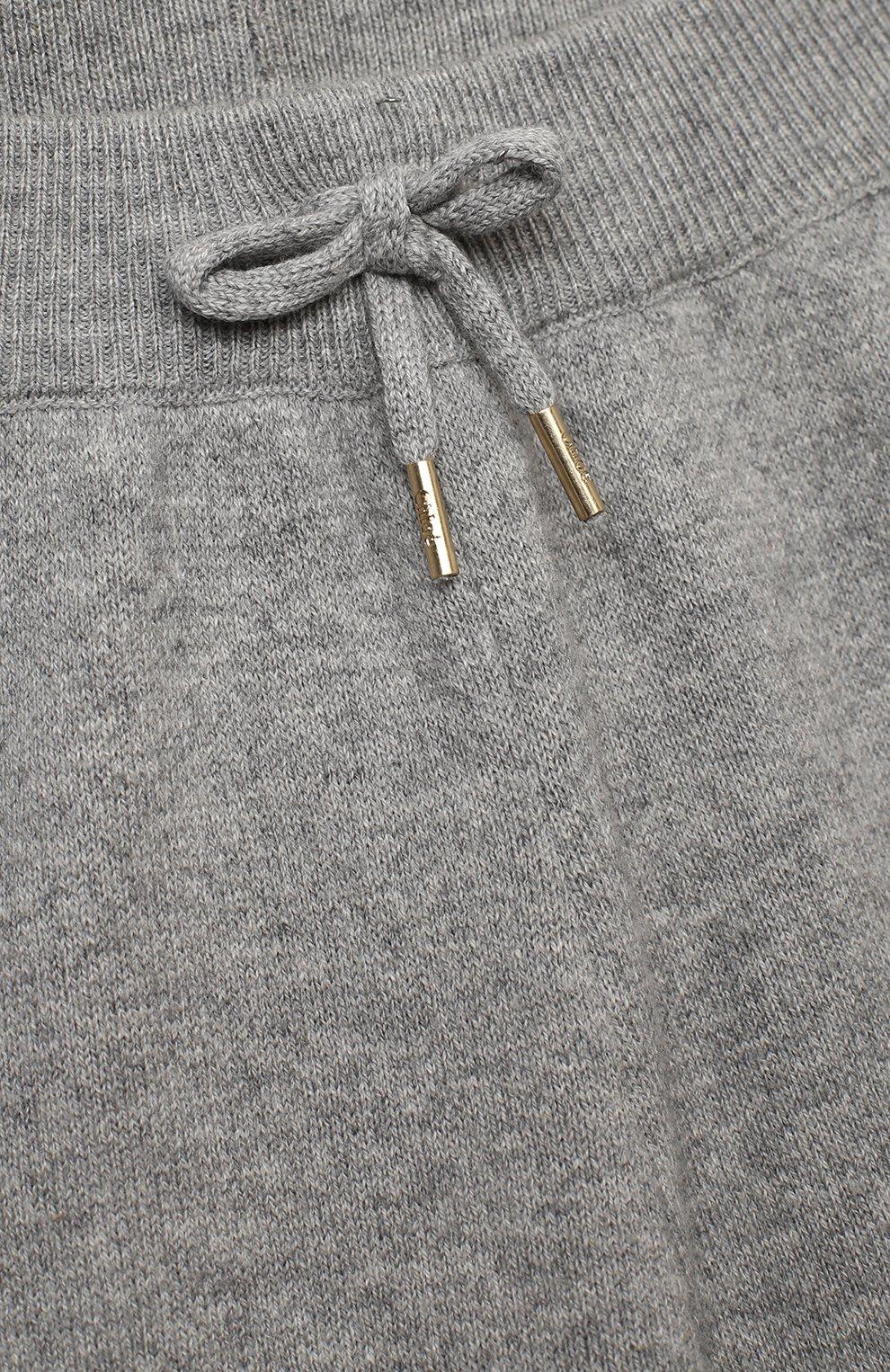 Детские джоггеры CHLOÉ серого цвета, арт. C14641   Фото 3
