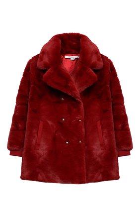 Детское пальто CHLOÉ красного цвета, арт. C16371 | Фото 1