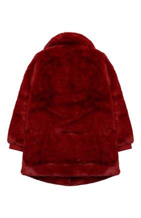 Детское пальто CHLOÉ красного цвета, арт. C16371 | Фото 2