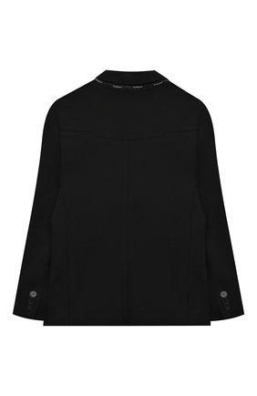 Детский пиджак GIVENCHY черного цвета, арт. H26067 | Фото 2