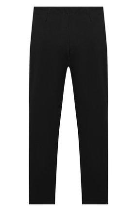 Детские брюки KARL LAGERFELD KIDS черного цвета, арт. Z14130   Фото 1