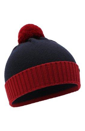 Детский комплект из шапки и шарфа EMPORIO ARMANI красного цвета, арт. 407308/0A747 | Фото 2