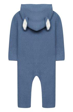Детский хлопковый комбинезон STELLA MCCARTNEY синего цвета, арт. 601042/SPM15 | Фото 2