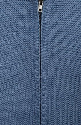 Детский хлопковый комбинезон STELLA MCCARTNEY синего цвета, арт. 601042/SPM15 | Фото 3