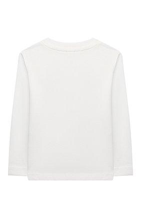 Детский хлопковый лонгслив STELLA MCCARTNEY белого цвета, арт. 601038/SPJ19 | Фото 2
