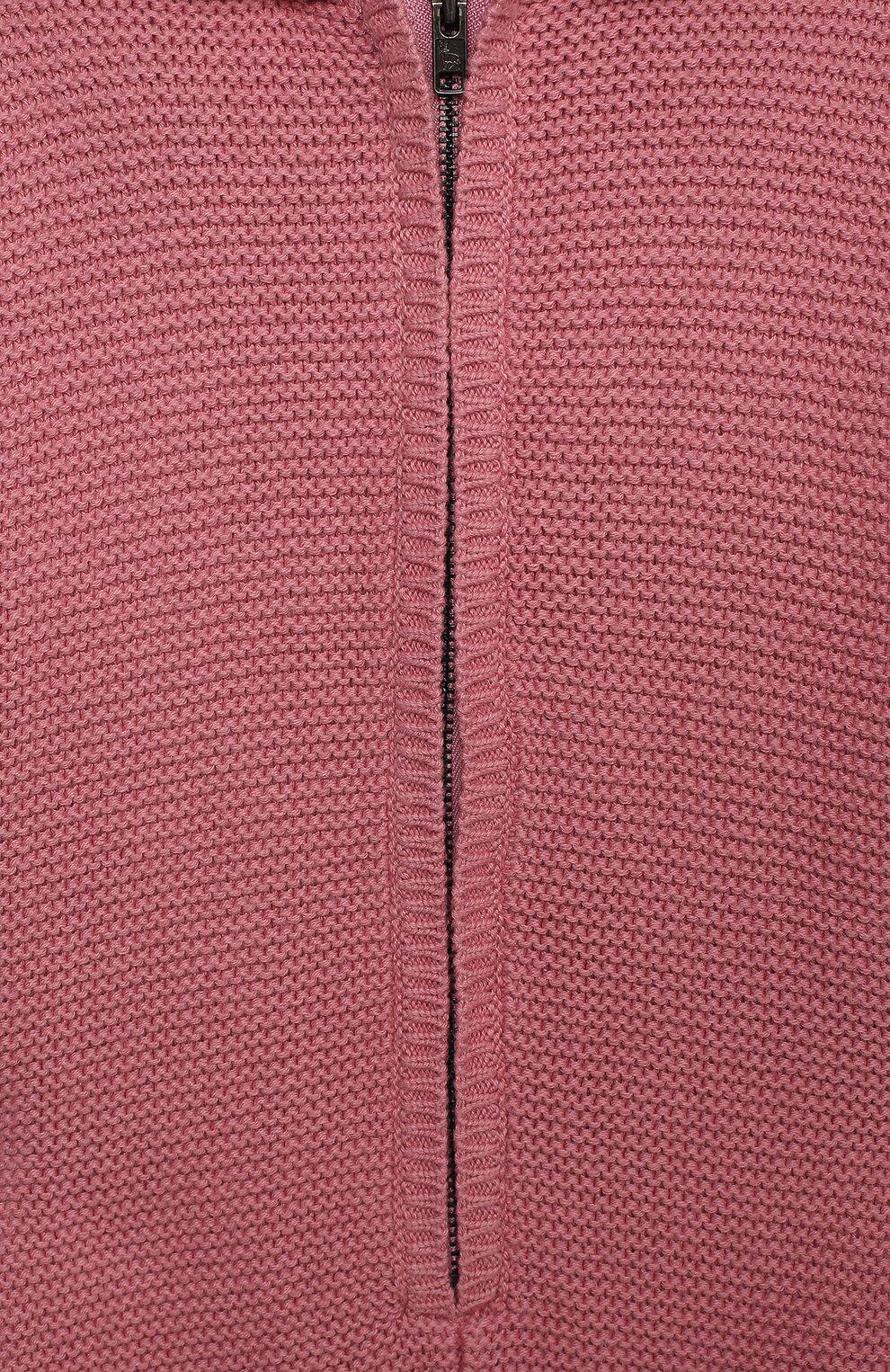 Детский хлопковый комбинезон STELLA MCCARTNEY розового цвета, арт. 601036/SPM15 | Фото 3