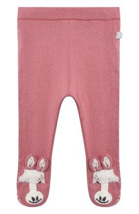 Детские хлопковые ползунки STELLA MCCARTNEY розового цвета, арт. 601033/SPM15 | Фото 1