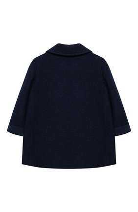 Детского шерстяное пальто GUCCI синего цвета, арт. 616200/XWAJ0 | Фото 2