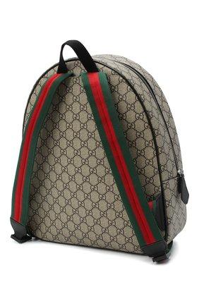 Детская рюкзак GUCCI бежевого цвета, арт. 433578/2DHCN | Фото 2