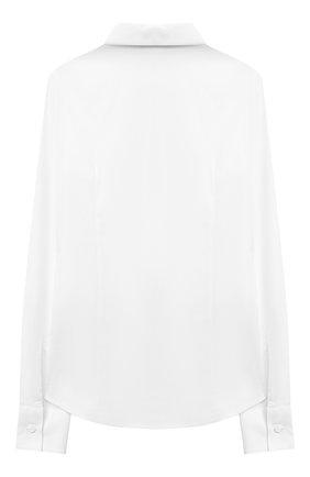 Детское хлопковая блузка DAL LAGO белого цвета, арт. R407A/7537/7-12 | Фото 2