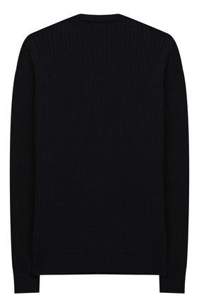 Детский шерстяной пуловер DAL LAGO темно-синего цвета, арт. R567/8931/7-12 | Фото 2
