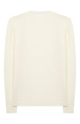 Детский шерстяной пуловер DAL LAGO бежевого цвета, арт. R567/8931/7-12 | Фото 2