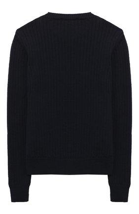 Детский шерстяной пуловер DAL LAGO темно-синего цвета, арт. R567/8931/13-16 | Фото 2