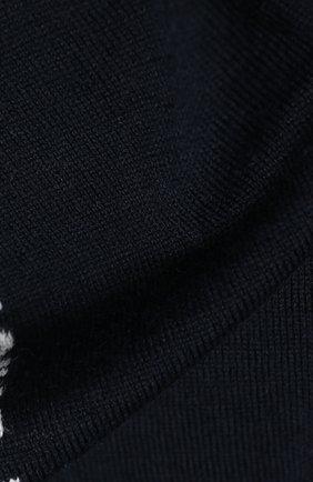 Детский шарф EMPORIO ARMANI синего цвета, арт. 404614/0A465 | Фото 2