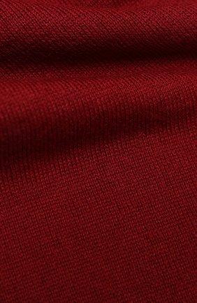 Детский шарф EMPORIO ARMANI красного цвета, арт. 404614/0A465 | Фото 2
