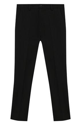 Детские брюки PAOLO PECORA MILANO черного цвета, арт. PP2448Z/14A-16A | Фото 1