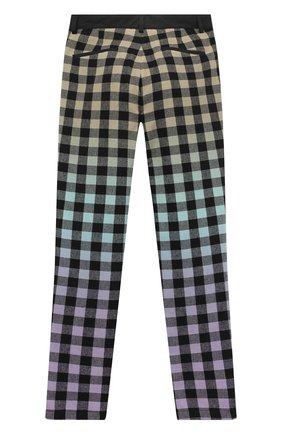 Детские хлопковые брюки MARCELO BURLON KIDS OF MILAN черного цвета, арт. 20I/B/MB/3060/0952/8-14Y | Фото 2