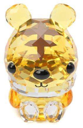 Мужская скульптура tiger SWAROVSKI желтого цвета, арт. 5302562 | Фото 1