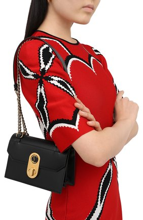 Женская сумка elisa mini CHRISTIAN LOUBOUTIN черного цвета, арт. elisa mini  calf paris   Фото 2