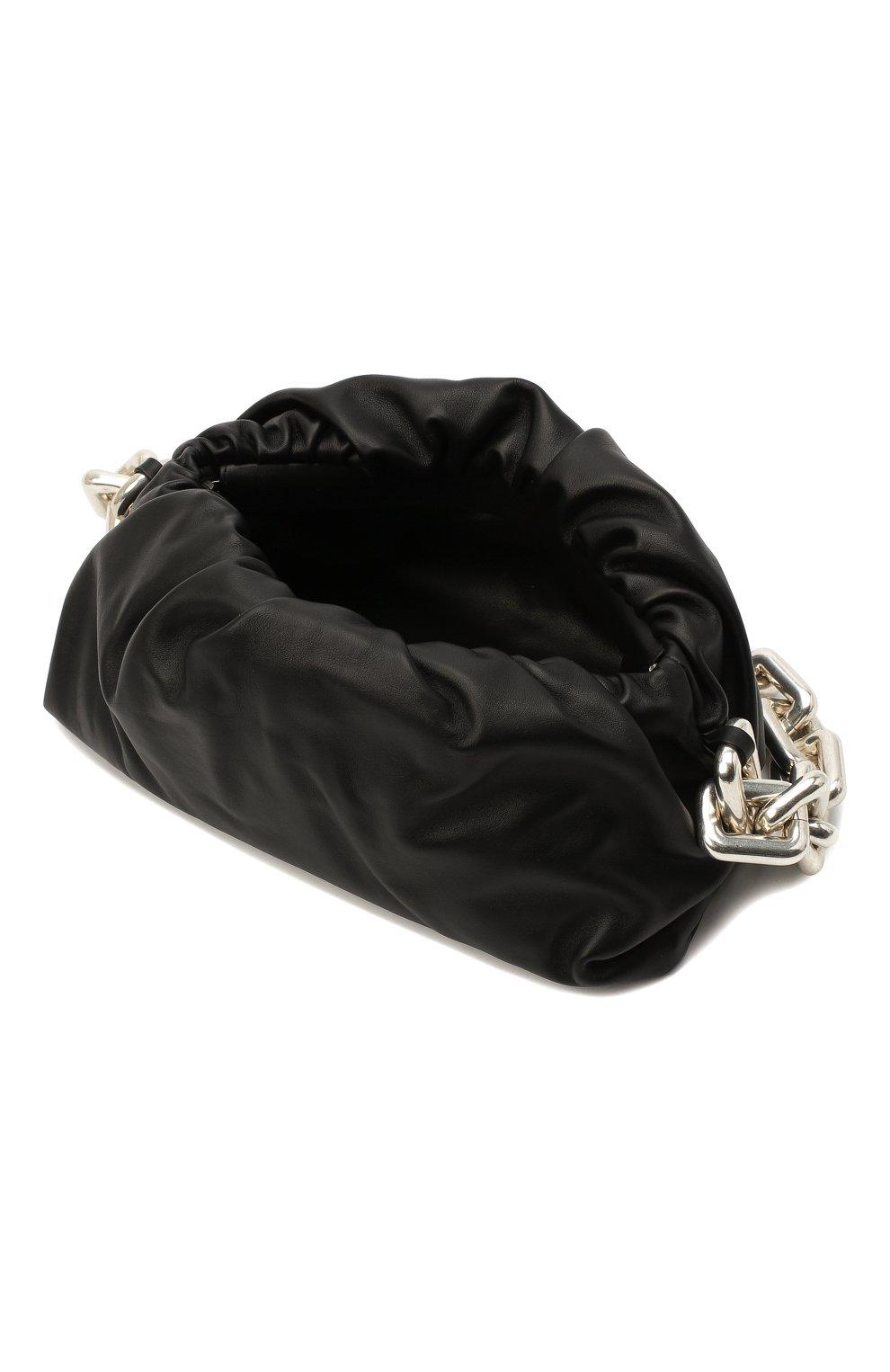 Женская сумка chain pouch BOTTEGA VENETA черного цвета, арт. 620230/VCP40 | Фото 5
