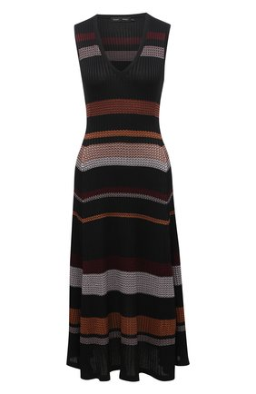 Женское платье из вискозы PROENZA SCHOULER черного цвета, арт. R2037481-KY195 | Фото 1