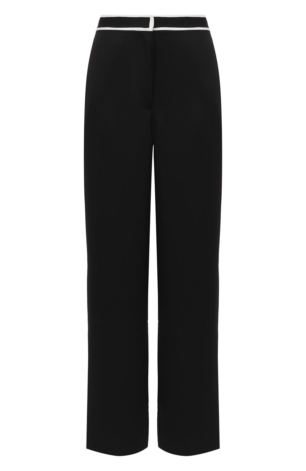 Женские брюки PROENZA SCHOULER WHITE LABEL черного цвета, арт. WL2036016-BY169   Фото 1