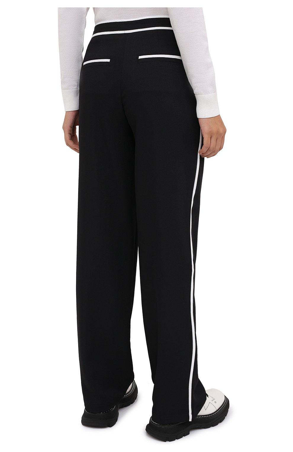 Женские брюки PROENZA SCHOULER WHITE LABEL черного цвета, арт. WL2036016-BY169   Фото 4