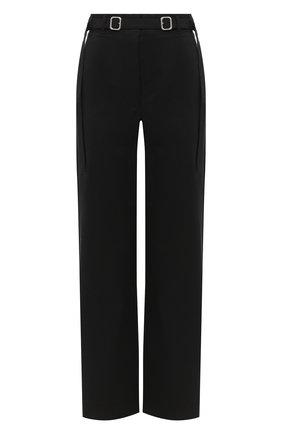 Женские хлопковые брюки PROENZA SCHOULER WHITE LABEL черного цвета, арт. WL2036042-AC110 | Фото 1
