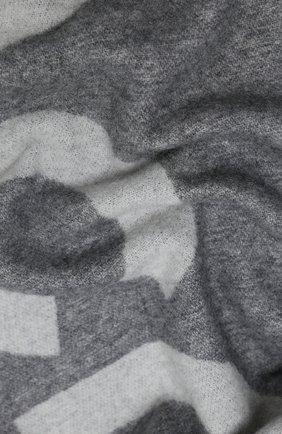 Мужской шерстяной шарф ACNE STUDIOS серого цвета, арт. CA0104/M | Фото 2