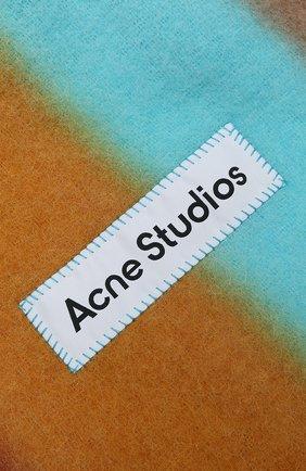 Мужской шарф ACNE STUDIOS разноцветного цвета, арт. CA0106/M | Фото 2