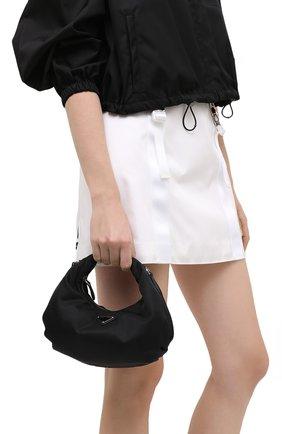 Женская сумка prada re edition bag PRADA черного цвета, арт. 1BH172-064-F0002-OOO   Фото 2