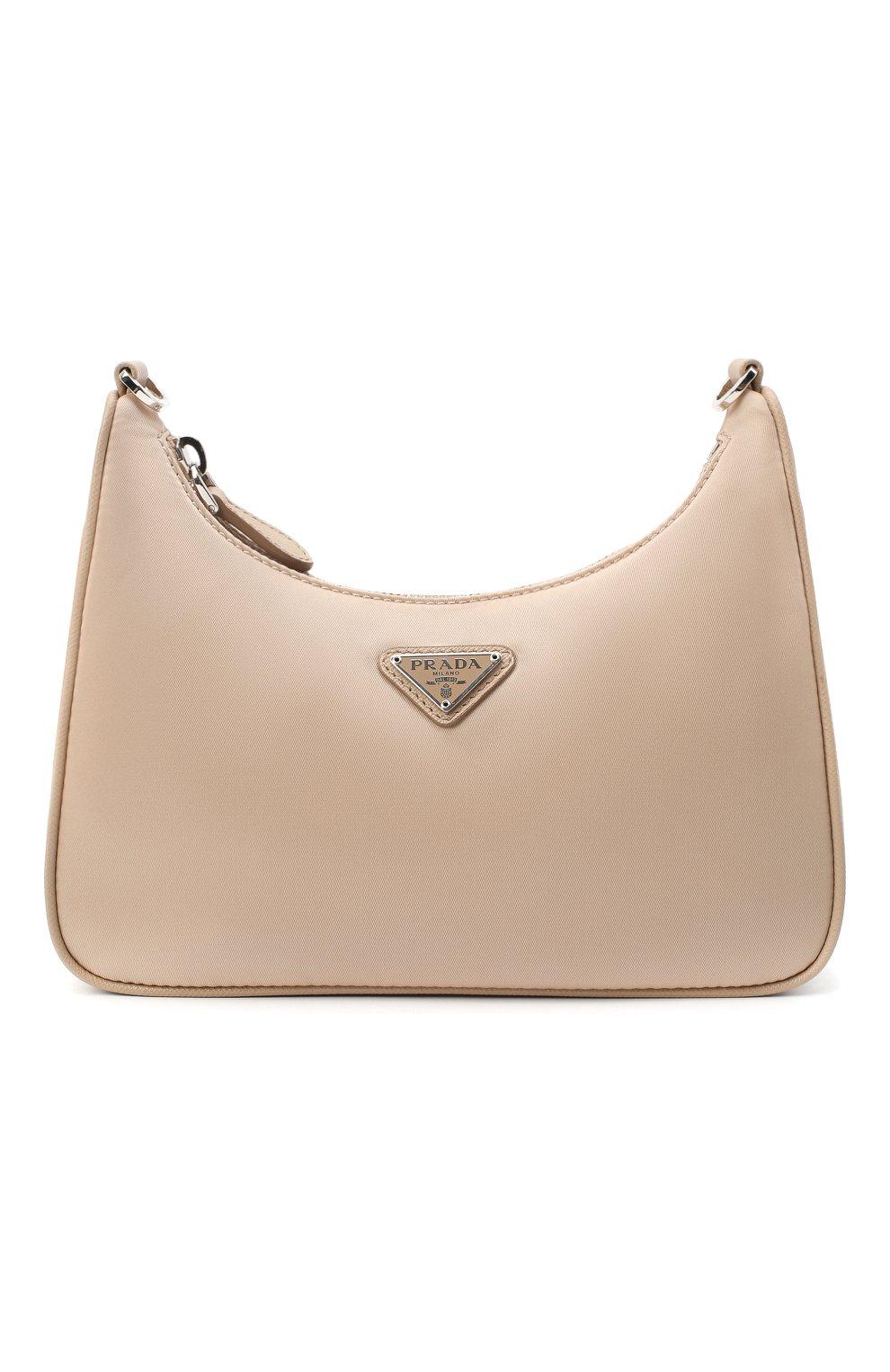 Женская сумка prada re edition bag PRADA бежевого цвета, арт. 1BH204-064-F0770-V1L | Фото 1