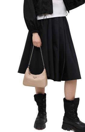 Женская сумка prada re edition bag PRADA бежевого цвета, арт. 1BH204-064-F0770-V1L | Фото 3