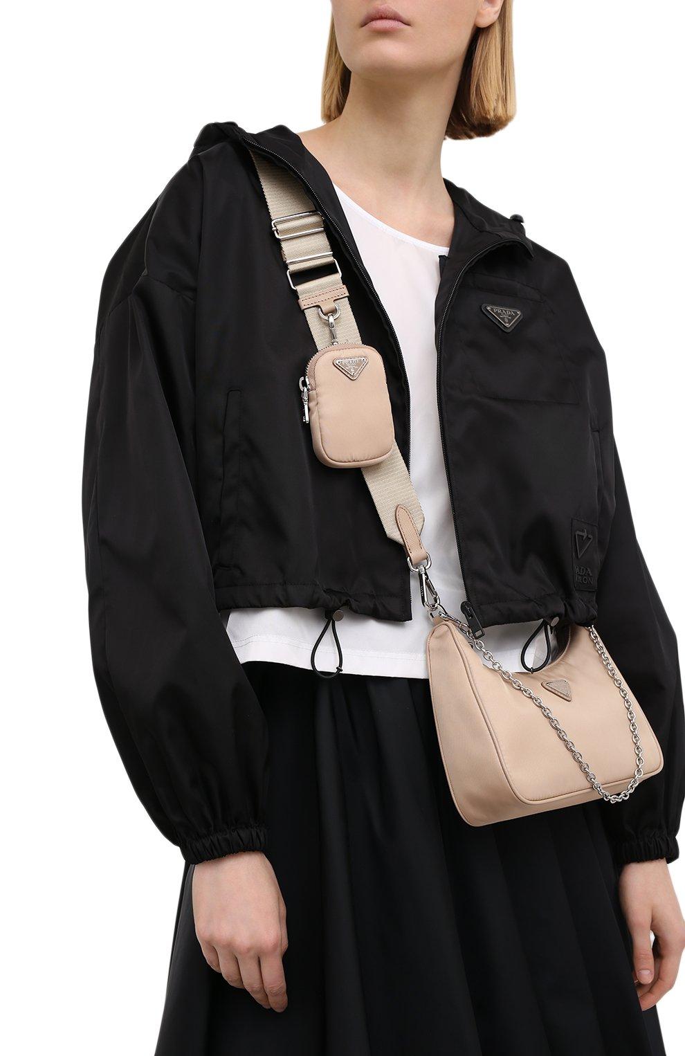 Женская сумка prada re edition bag PRADA бежевого цвета, арт. 1BH204-064-F0770-V1L | Фото 6