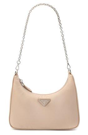 Женская сумка prada re edition bag PRADA бежевого цвета, арт. 1BH204-064-F0770-V1L | Фото 7