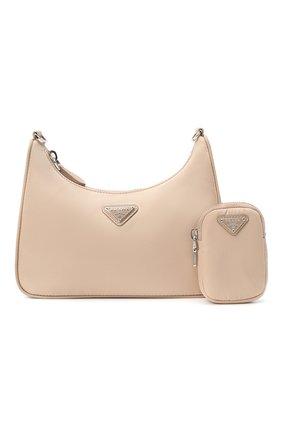 Женская сумка prada re edition bag PRADA бежевого цвета, арт. 1BH204-064-F0770-V1L | Фото 10