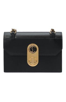 Женская сумка elisa small CHRISTIAN LOUBOUTIN черного цвета, арт. elisa small  calf paris   Фото 1