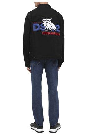 Мужская хлопковая куртка d2 x ovo DSQUARED2 черного цвета, арт. S74AM1120/S30564 | Фото 2