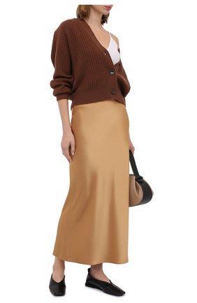 Женская юбка-миди THEORY золотого цвета, арт. I0709305   Фото 2